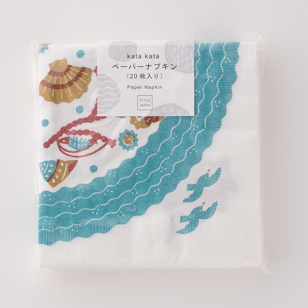ペーパーナプキン 海の底