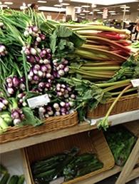 パッケージなしの野菜や果物